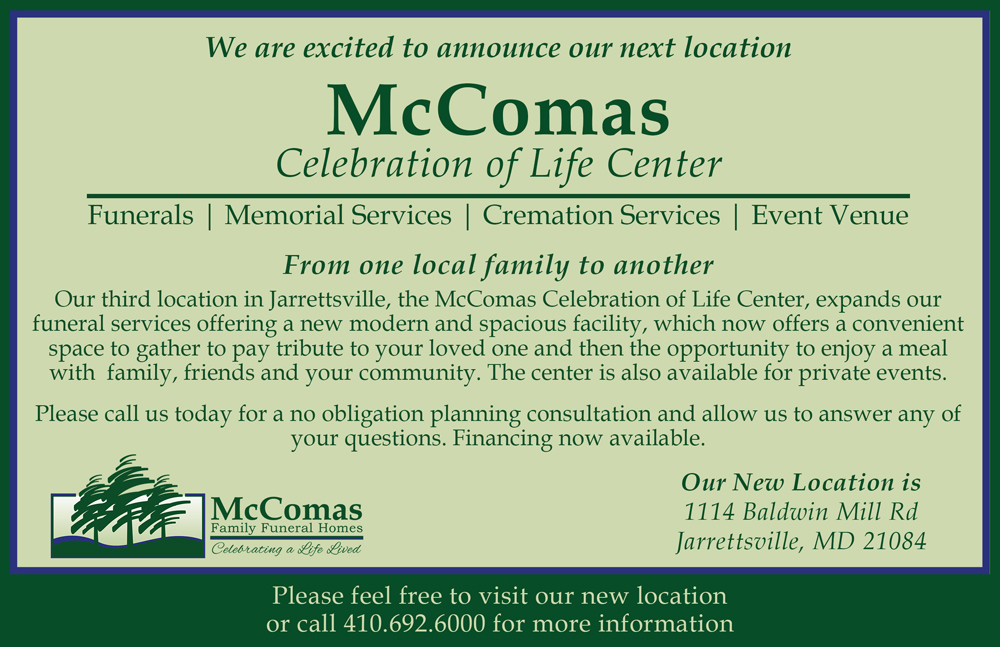 McComas Life Celebration Center
